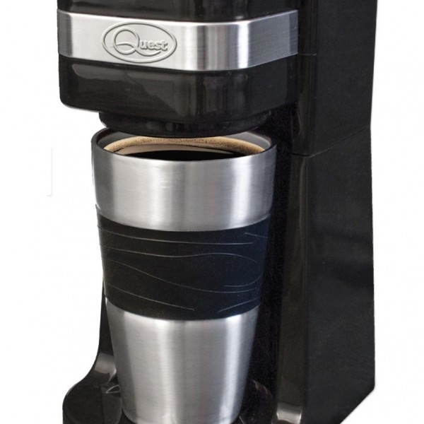 Coffee Maker With Thermal Travel Mug : Fusion Online