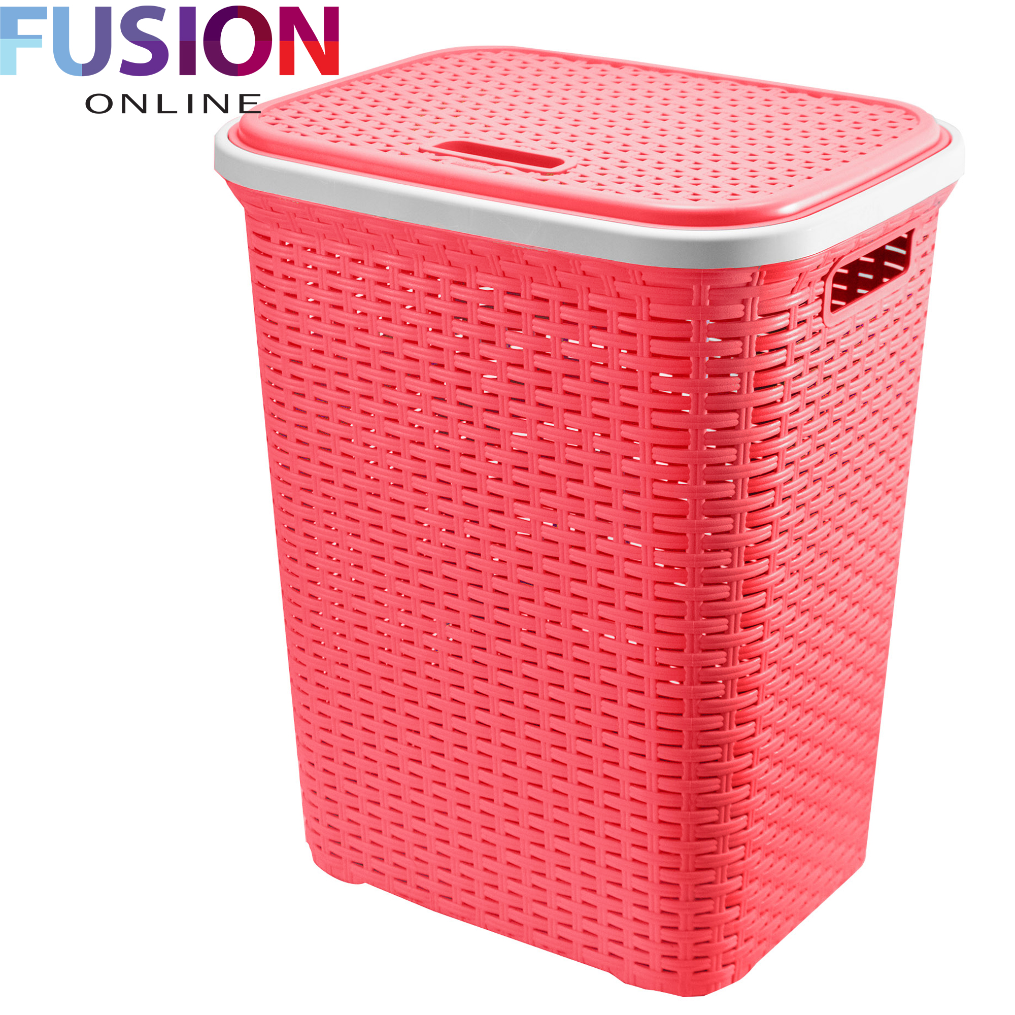 Large Laundry Basket Washing Clothes Storage Hamper Rattan