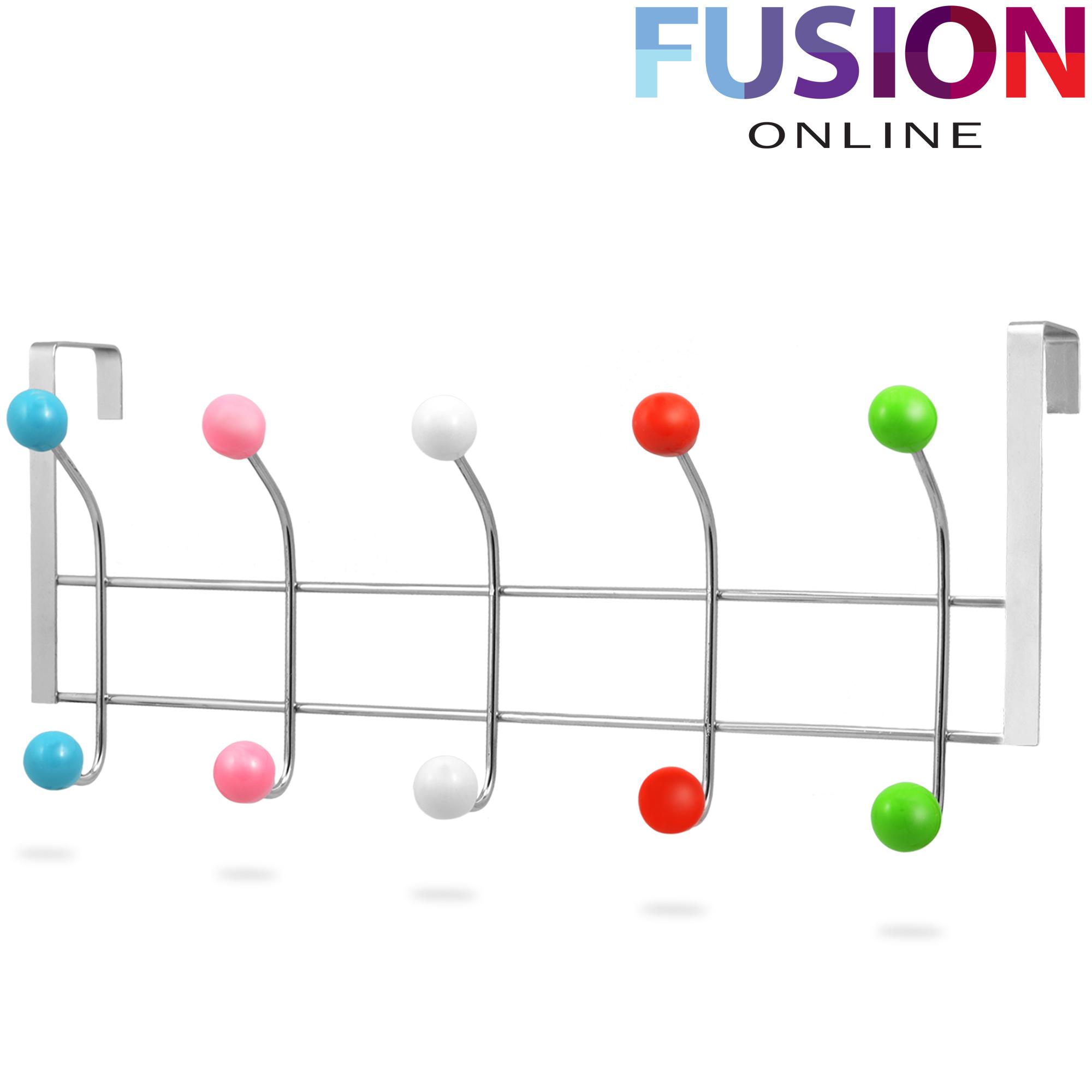 12 10 hooks multi colour over the door hanger washroom for 12 hook over the door coat rack