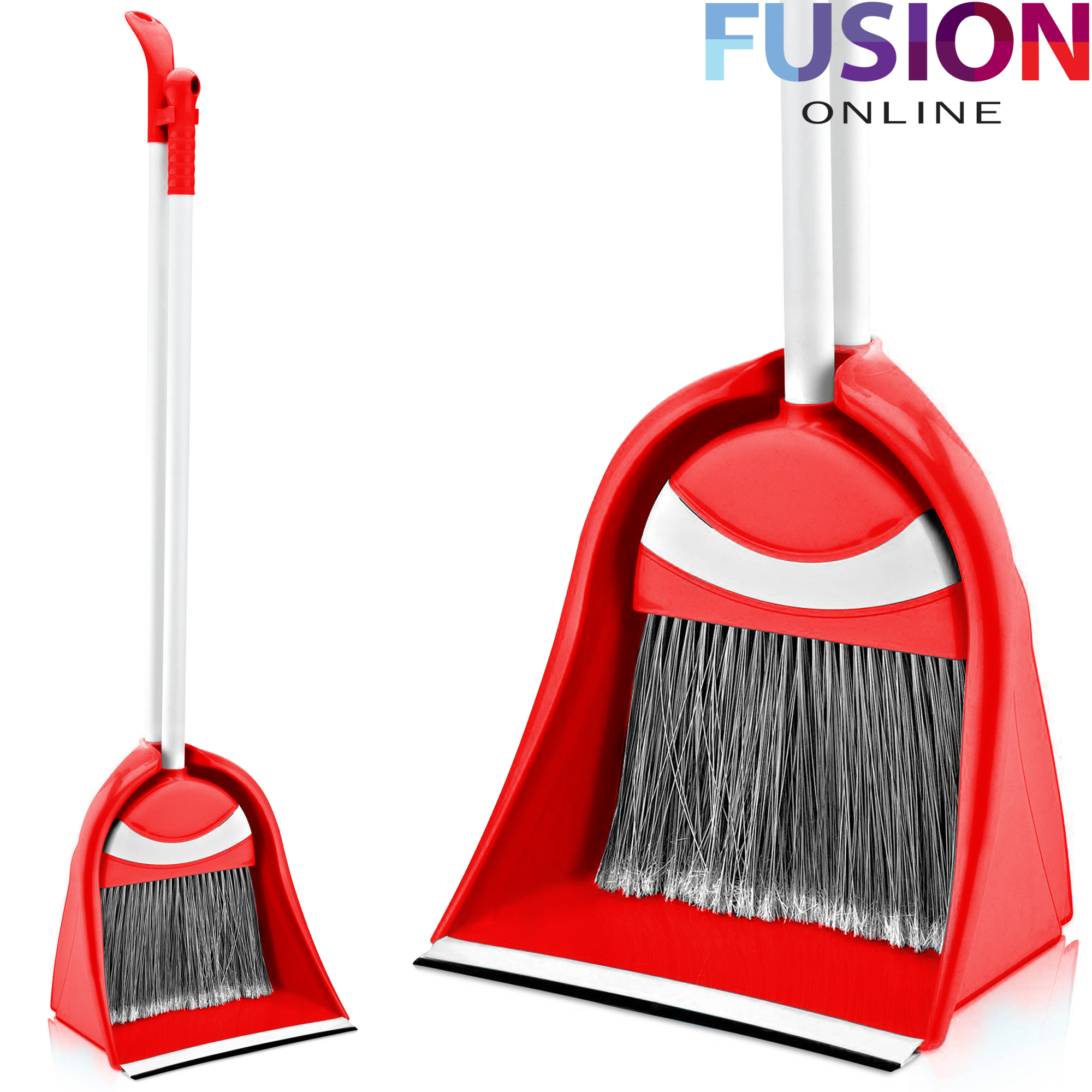 New Long Handle Handled Dustpan Dust Pan And With Brush