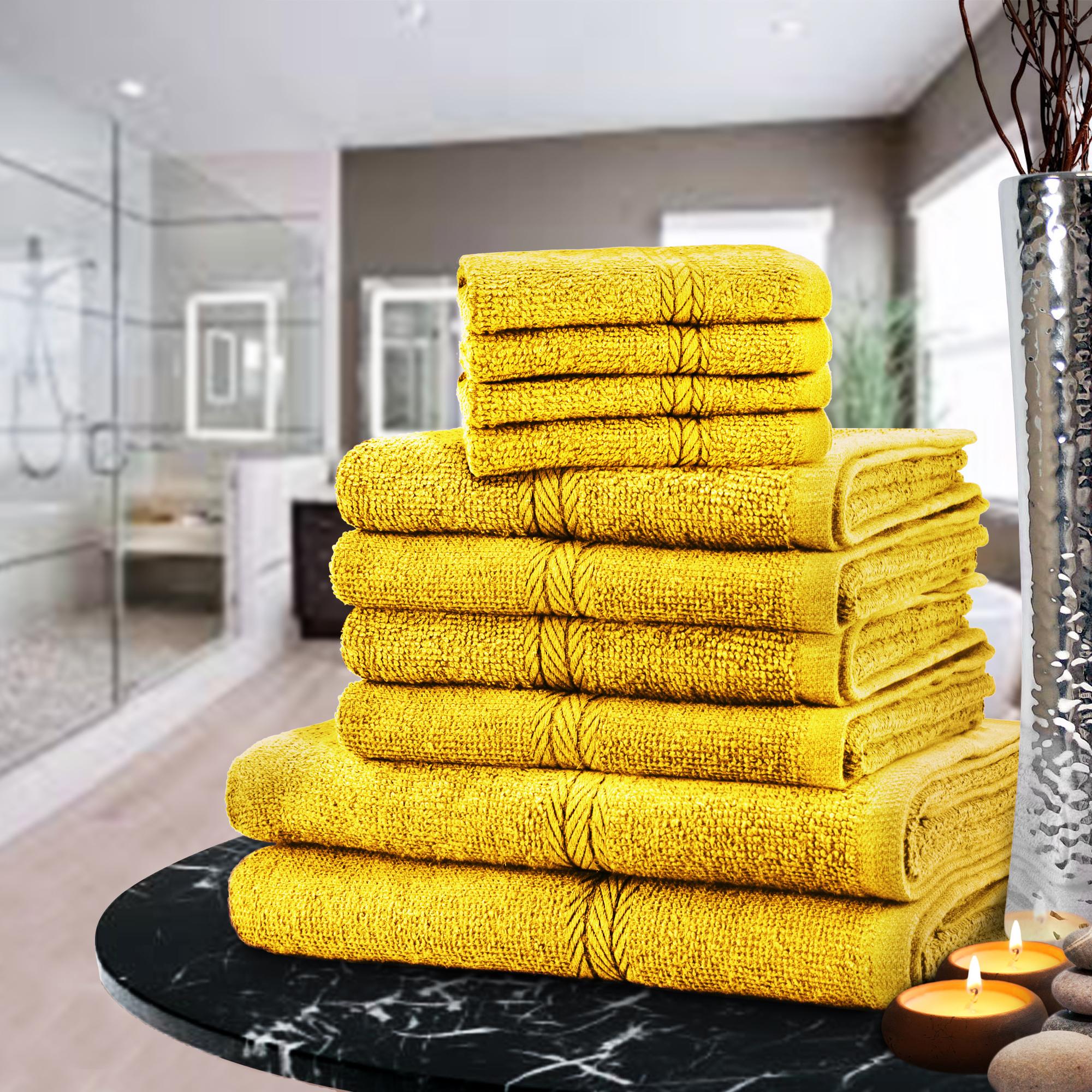 Bathroom Towels Luxury: LUXURY TOWEL BALE SET 100% EGYPTIAN COTTON 10PC FACE HAND