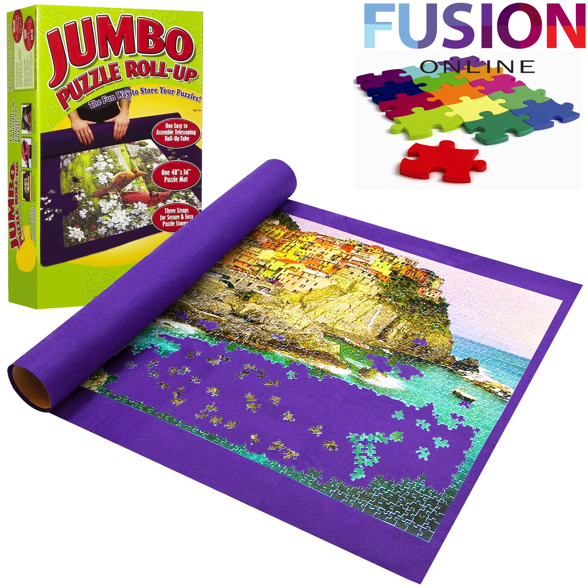 Giant Puzzle Roll up Mat Jigsaw Jumbo