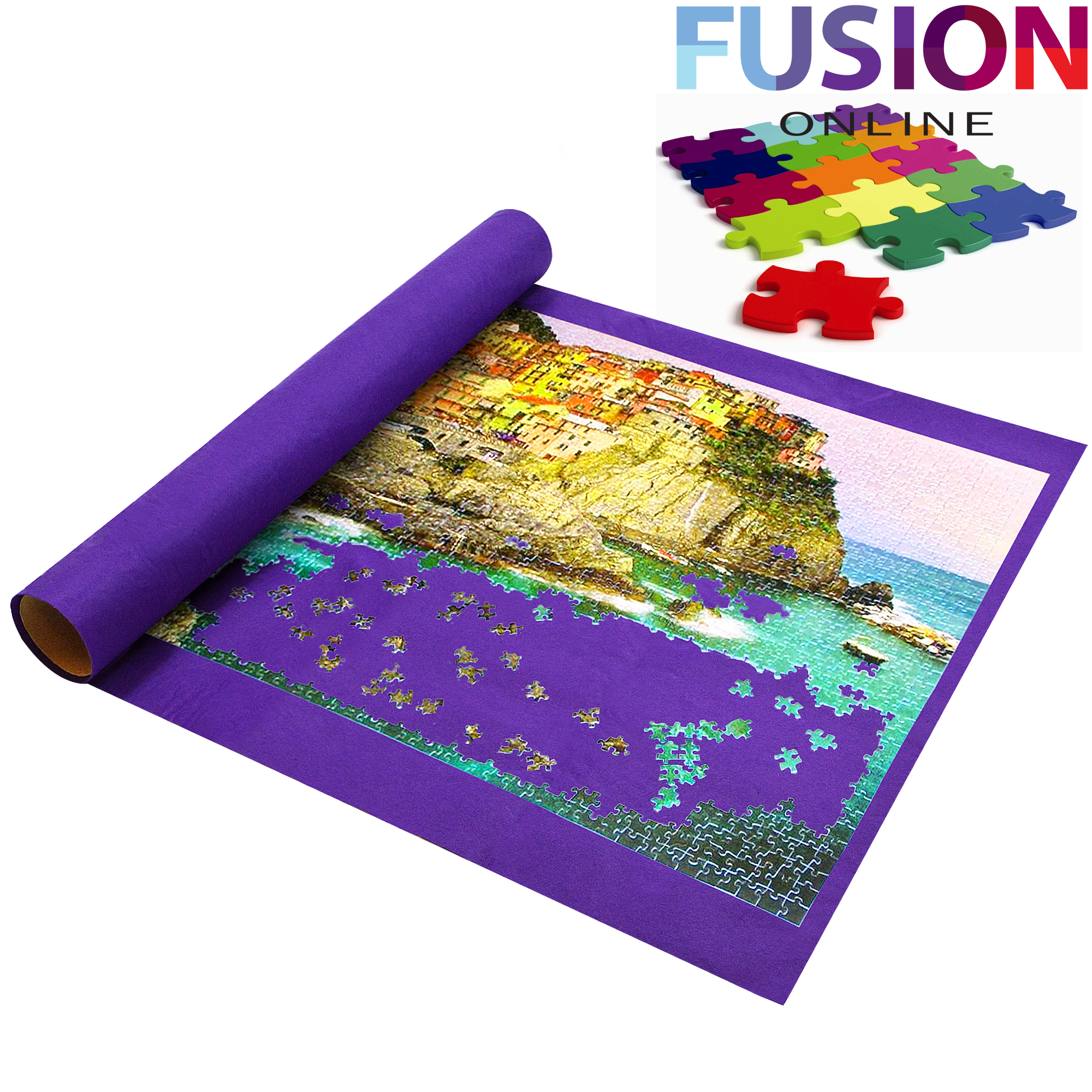 giant puzzle roll up mat jigsaw jumbo large 3000 pieces. Black Bedroom Furniture Sets. Home Design Ideas