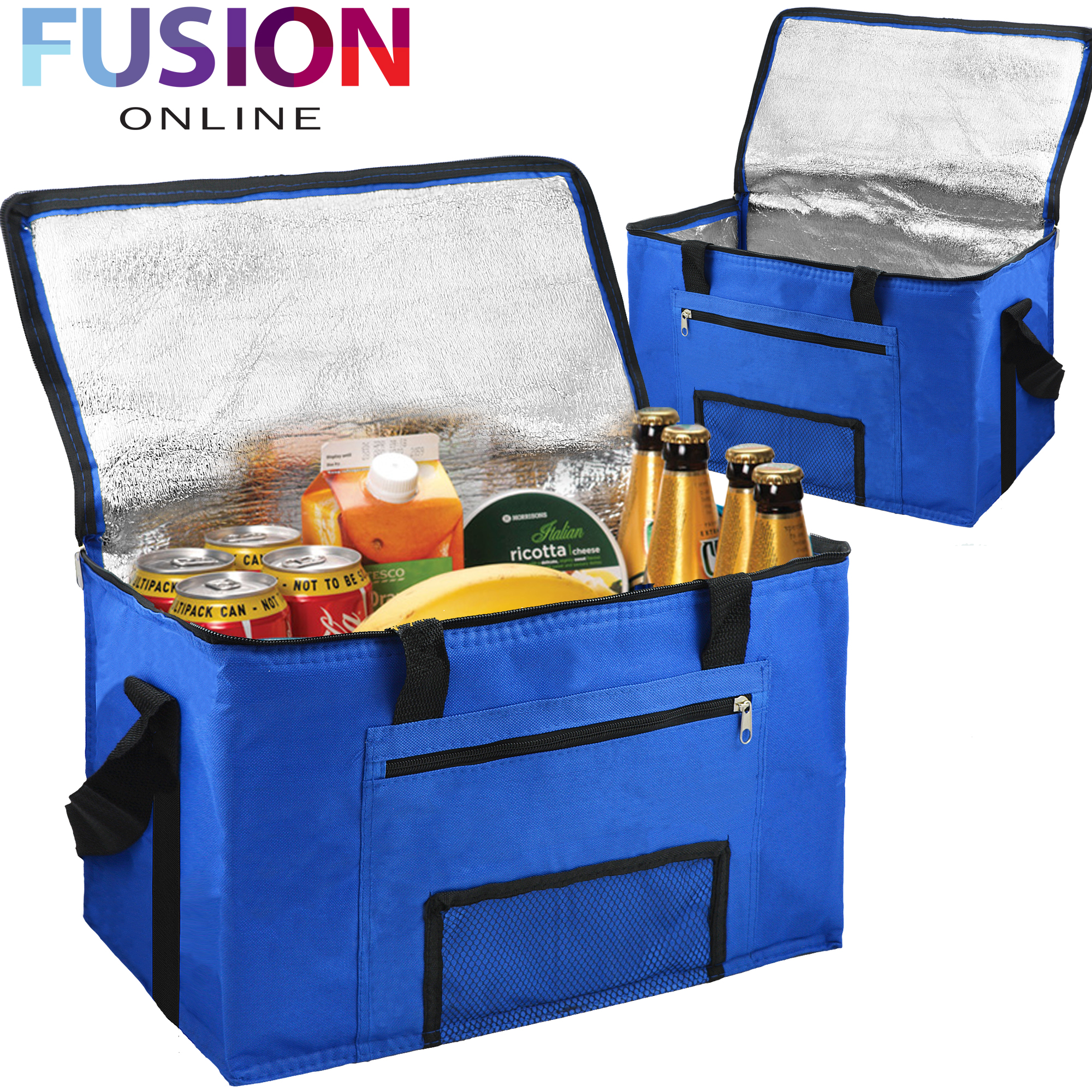lunch box cooler 28l large cooling cooler cool bag box picnic camping 12984