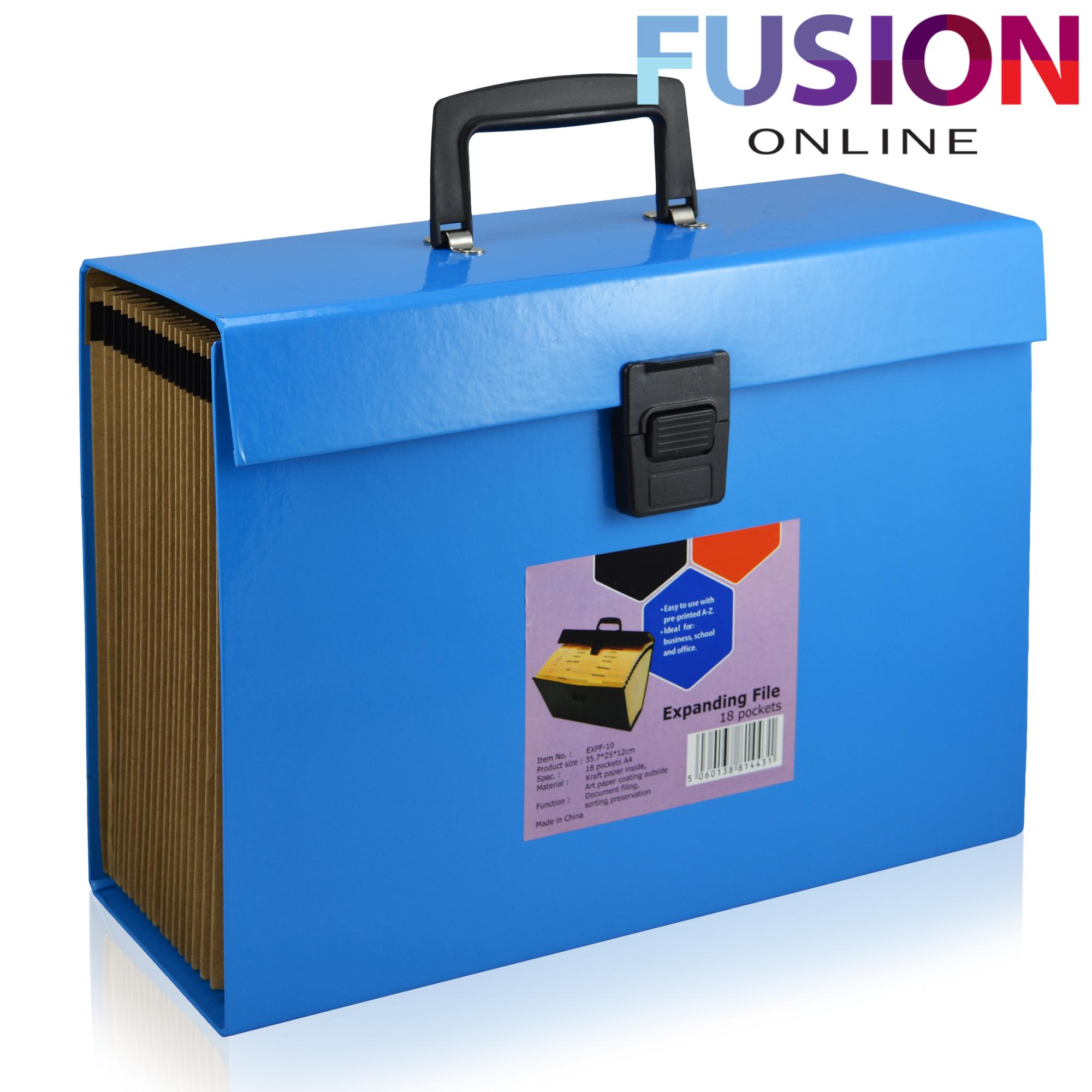 Expanding File Folder Organiser A4 Documents Paper