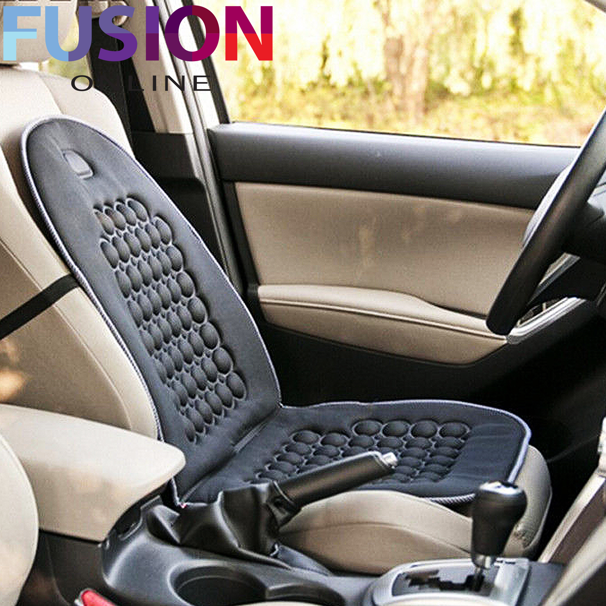 lumbar support car seat cover velcromag. Black Bedroom Furniture Sets. Home Design Ideas