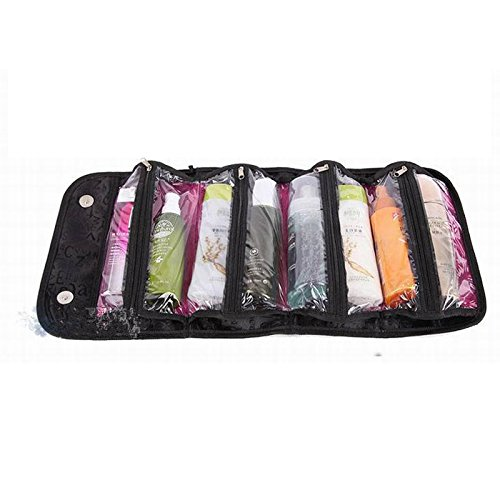 Makeup Case Cosmetic Bag Roll-N-Go Roll Up Travel Pouch