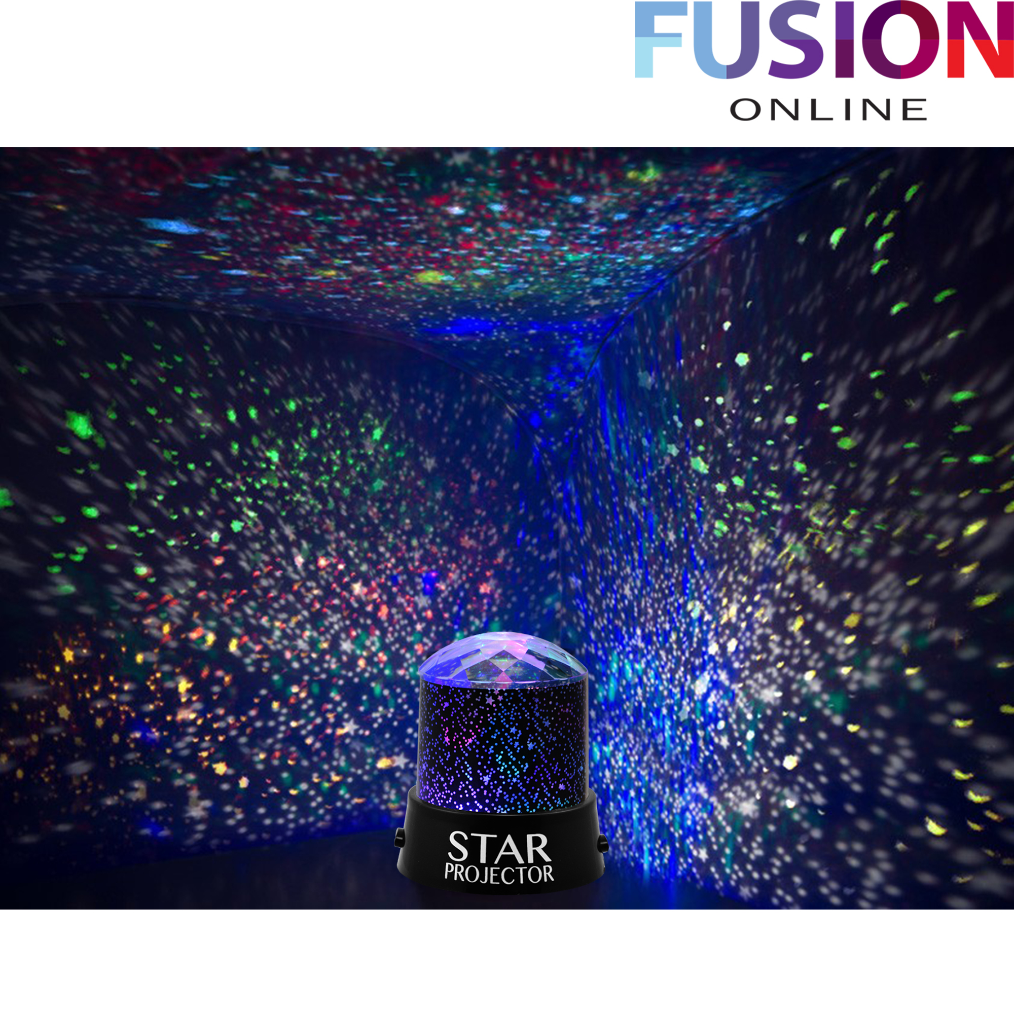 Star Projector Night Light Sky Moon Led Projector Mood