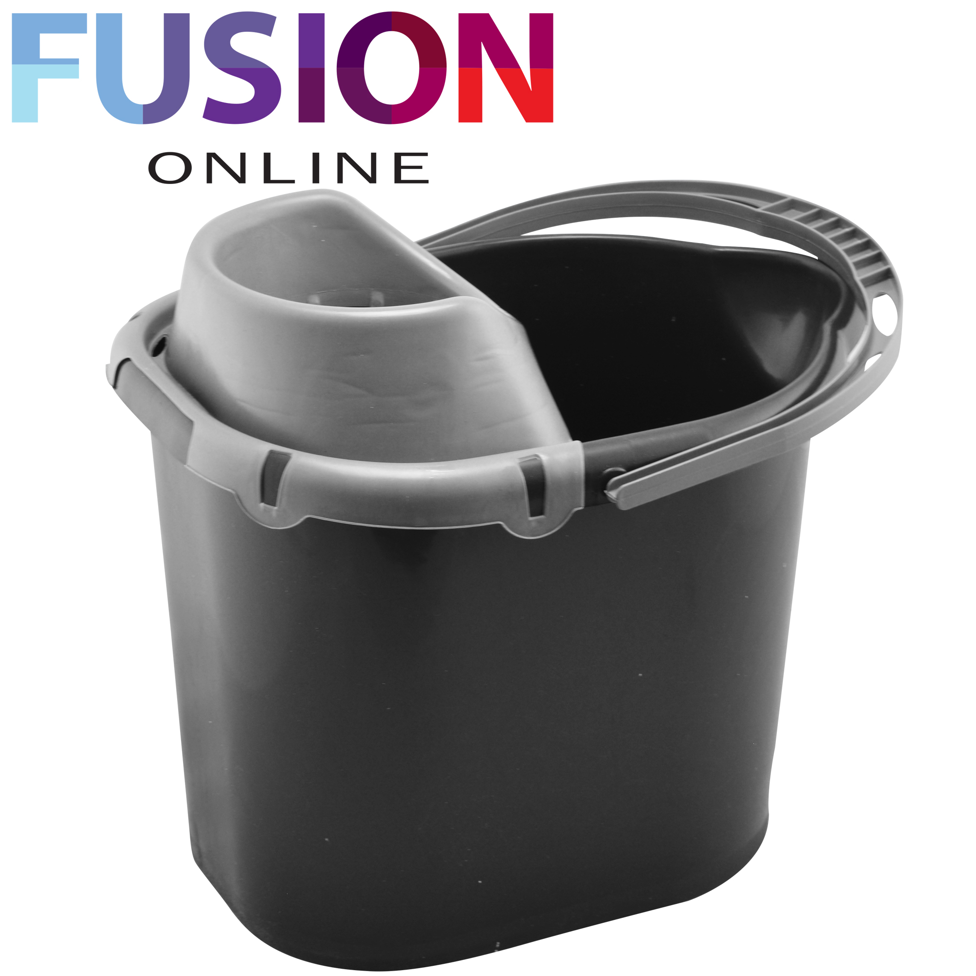 Large Plastic Mop Bucket With Wringer Cleaning Bucket