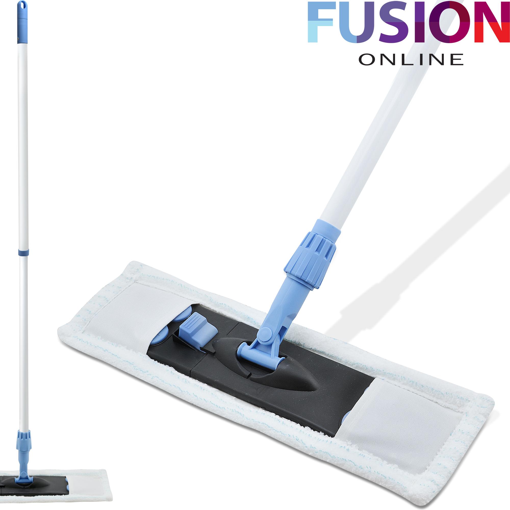 Extendable Microfibre Mop Cleaner Sweeper Tile Floor Wooden Laminate