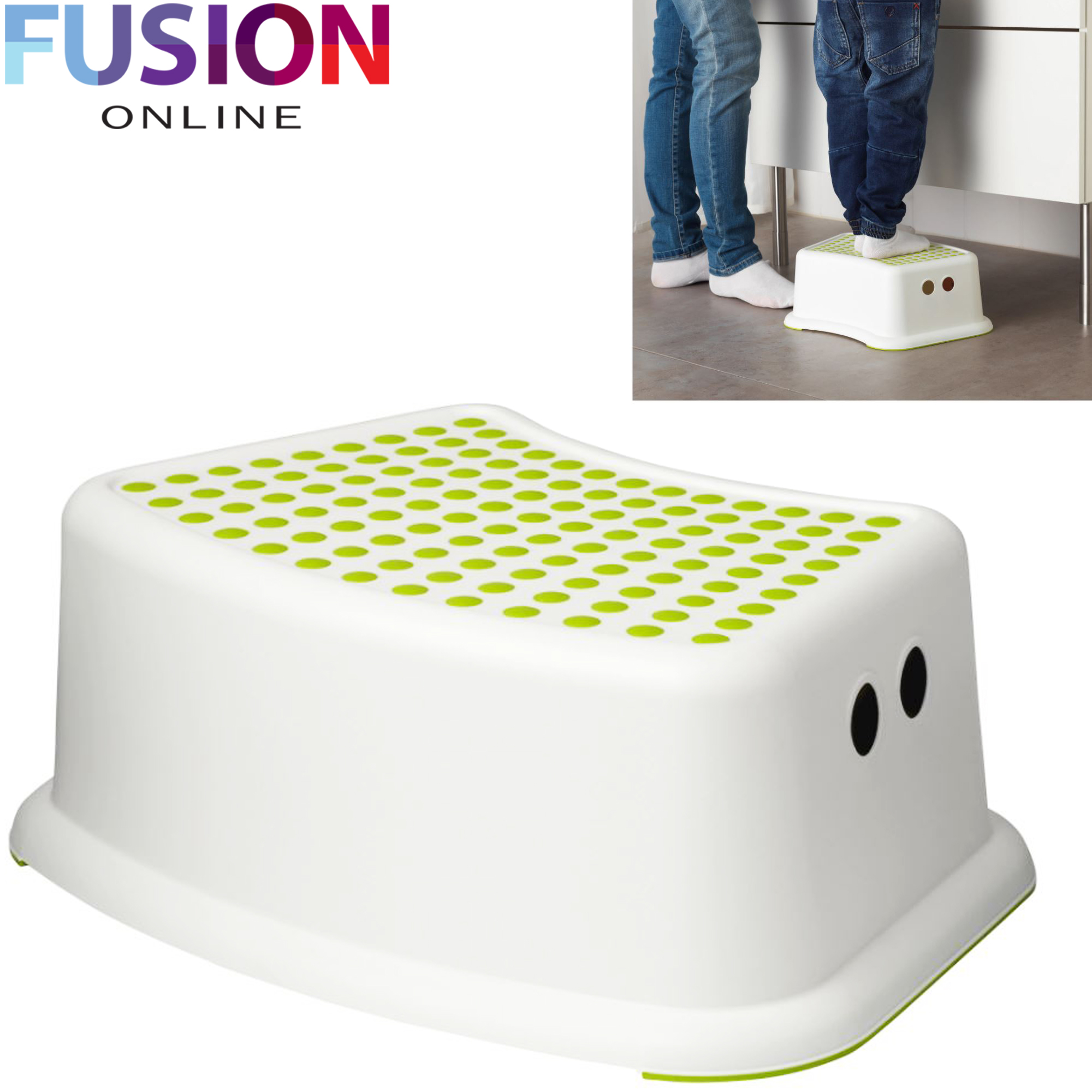 Kids Step Stool Anti Non Slip Children Potty Training
