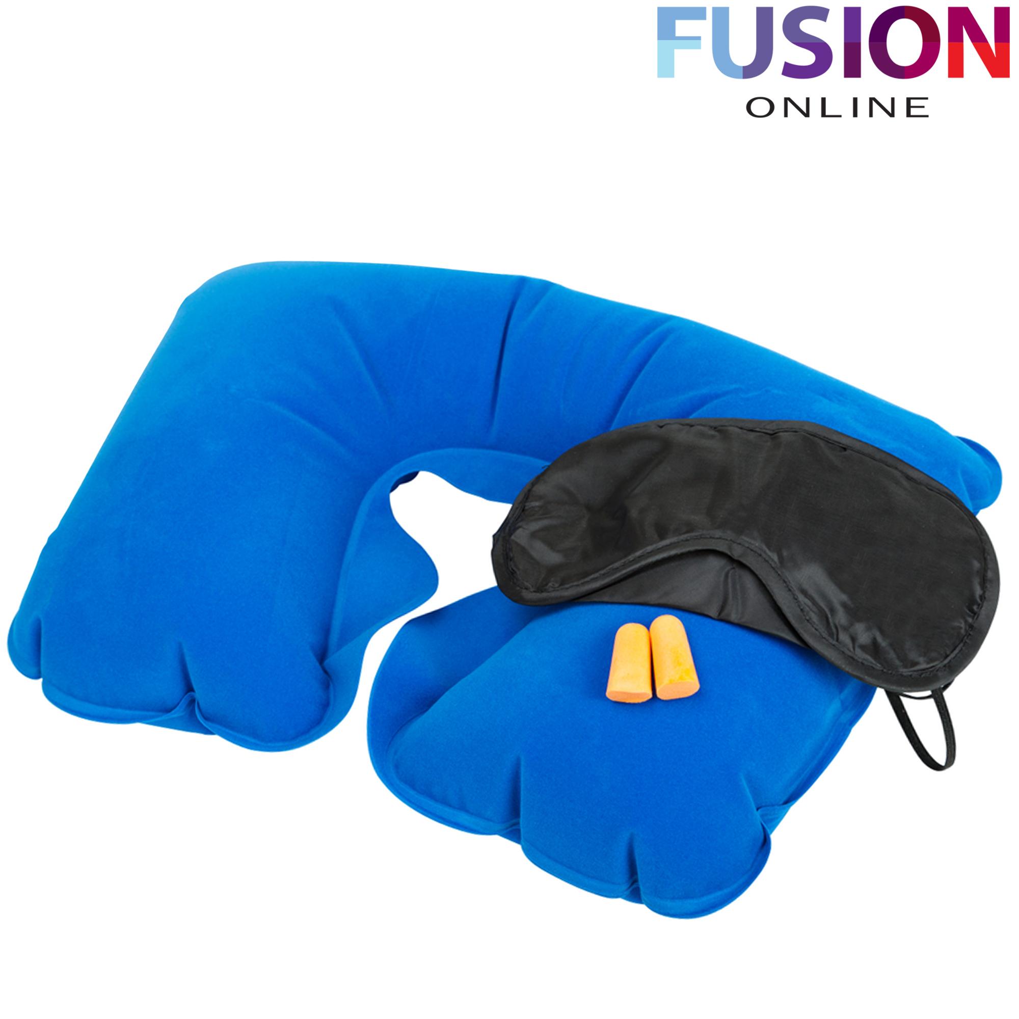 Inflatable Travel Pillow Neck Rest Cushion Sleep Sleeping