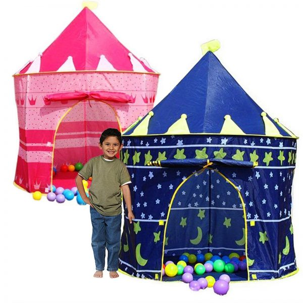 CHILDRENS KIDS POP UP CASTLE PLAYHOUSE GIRLS PRINCESS BOYS WIZARD ???PLAY TENT