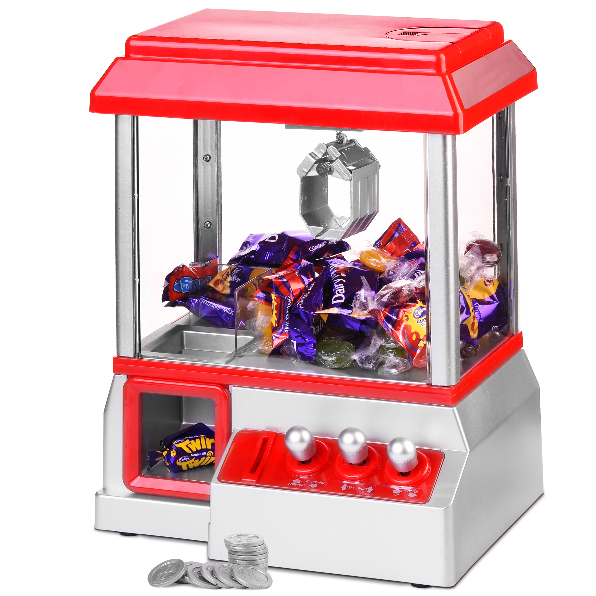 Arcade Candy Grabber Machine Toy Claw Game Kids Fun Crane