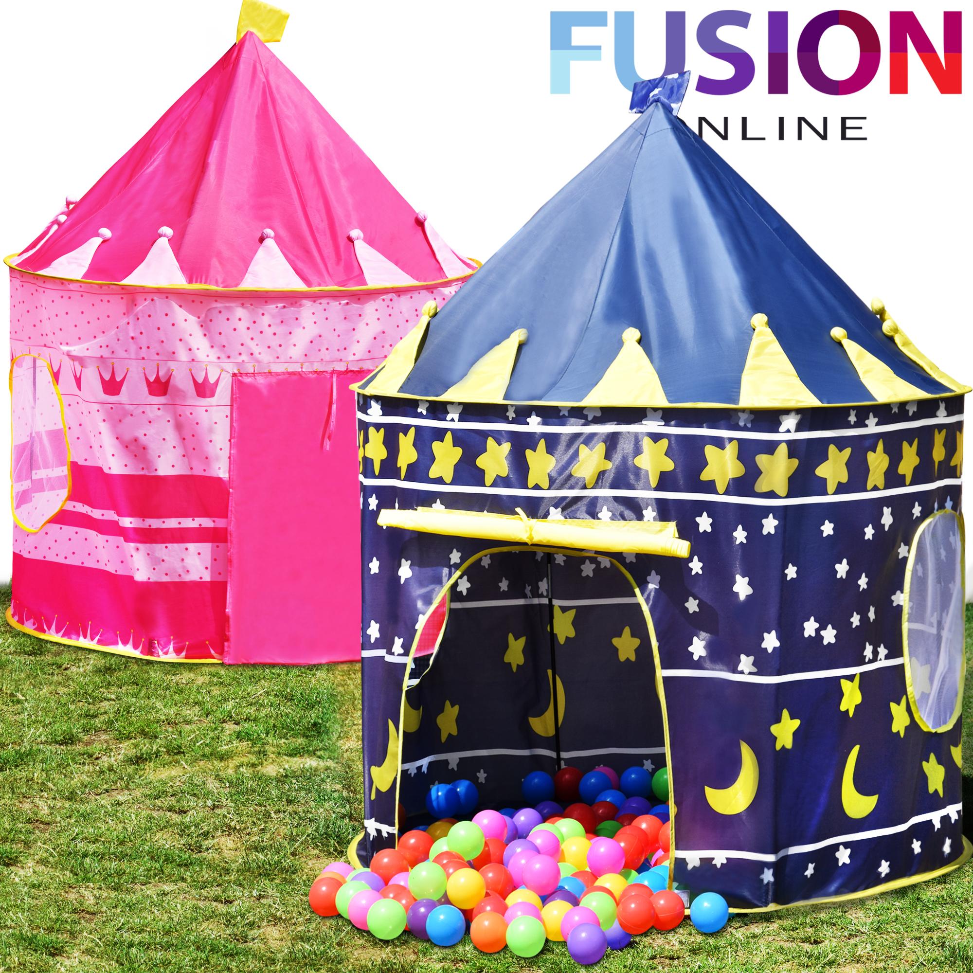 Details about Childrens Kids Pop Up Castle Playhouse Girls Princess / Boys Wizard - Play Tent  sc 1 st  eBay & Childrens Kids Pop Up Castle Playhouse Girls Princess / Boys Wizard ...