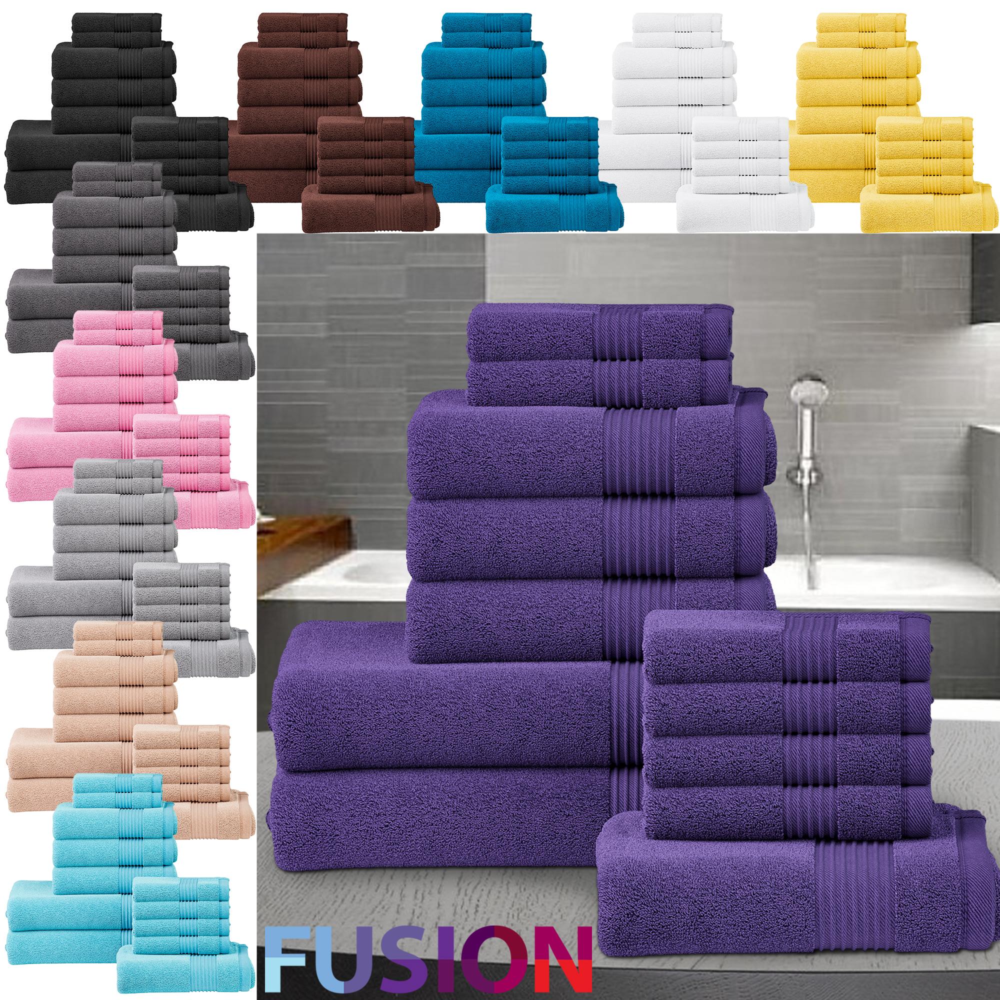 4 Pack toalla de baño de Grande de algodón egipcio 500GSM de lujo de baño de baño