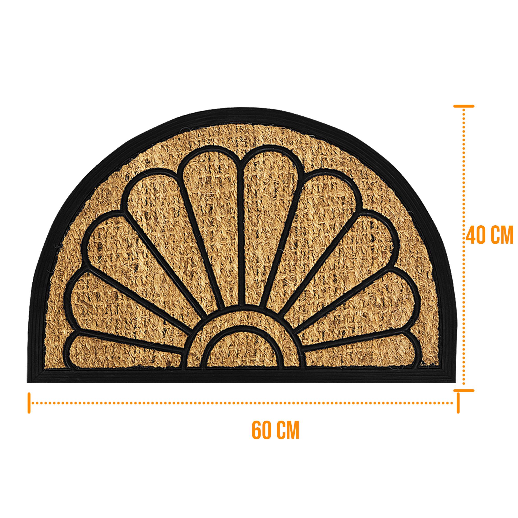 Door Mat Outdoor Doormat Natural Coir Rubber Back Non Slip
