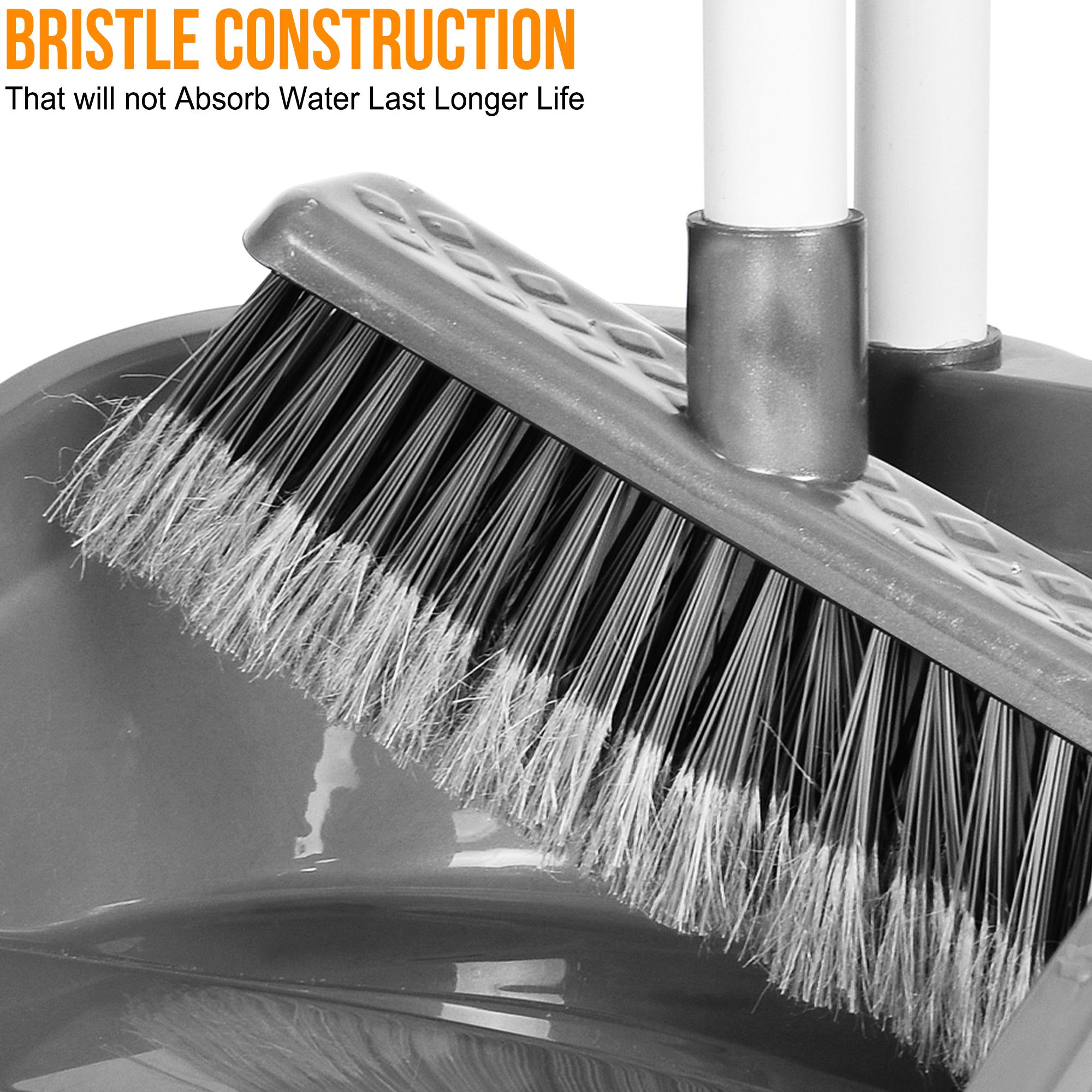 Dust Pan /& Brush Set Dustpan Sweeping Easy Handle Broom Cleaning Floor Sweeper